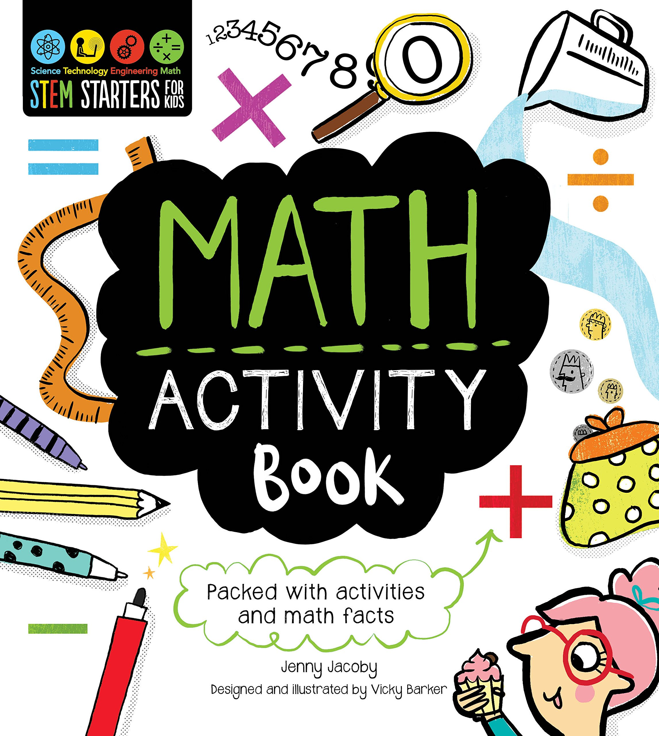 Download STEM Starters for Kids Math Activity Book: Packed with Activities and Math Facts pdf epub