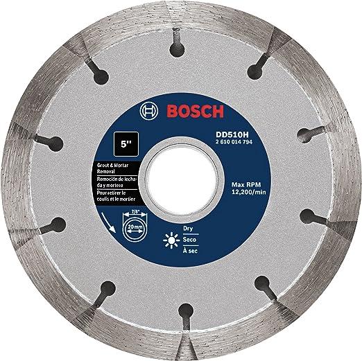 """Bosch 4/"""" 1//2 Premium Sandwich Truckpointing Diamond Blade"""