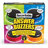Learning Resources Buzzers Enregistrables - Jeu de 4