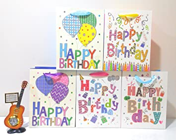 Gifts Online Glitter Paper Bags Birthday Return Gift