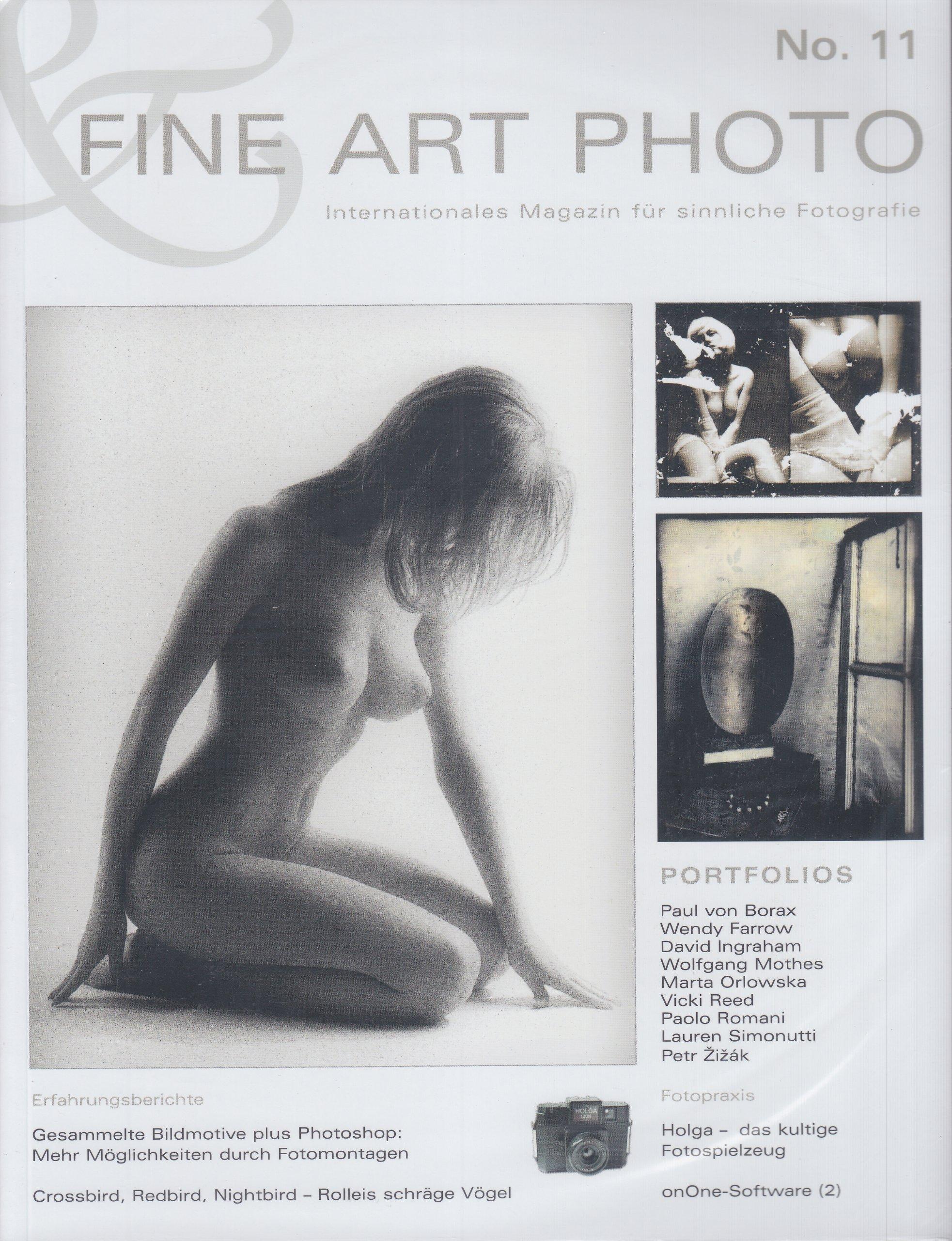 FINE ART PHOTO Nr. 11: Internationales Magazin für sinnliche Fotografie
