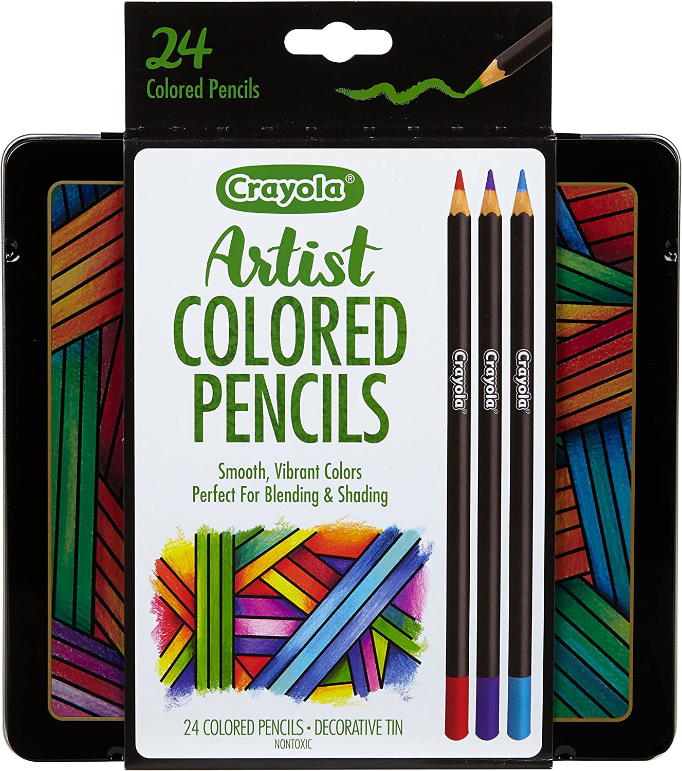 Amazon.com: Crayola Colored Pencils Set, Artist Colored Pencils ...