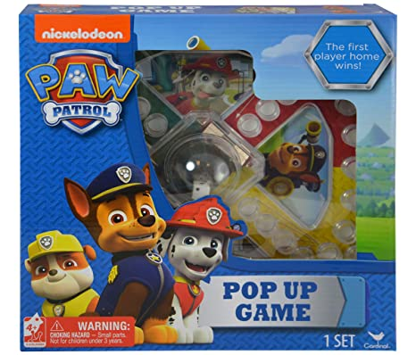 Amazon Mozlly Multipack Nickelodeon Paw Patrol Pop Up Game