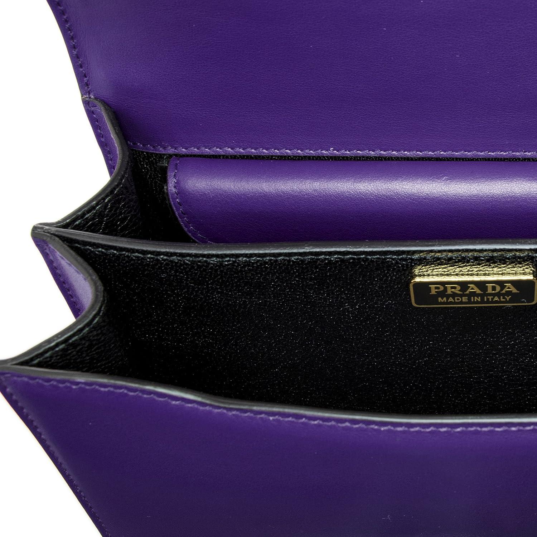 a8b2ac79e10c34 ... official amazon prada womens cahier leather bag violet clothing 8b449  8d556