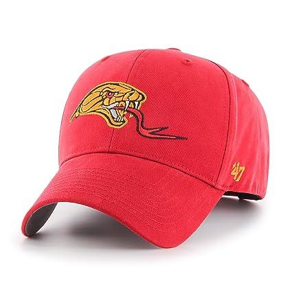 detailed look 6e631 05745  47 MLL Atlanta Blaze Kids Basic MVP Adjustable Hat, One Size, Red