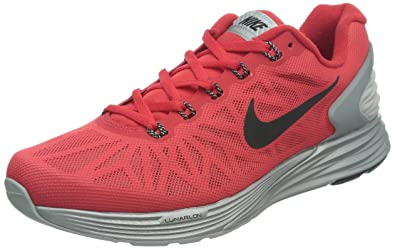 reputable site f0109 afc81 Nike Lunarglide 6 Flash, Action Red/Black-Reflect Silver, 6 M Us ...