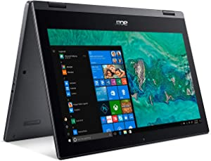"Acer Laptop Spin 1 2-in-1 Computer, Intel Celeron N4000 up to 2.6GHz, 4GB DDR4, 64GB eMMC, 11.6"" Touchscreen, Office Home & Student 2019, Windows 10, 2 Year Extended Warranty"