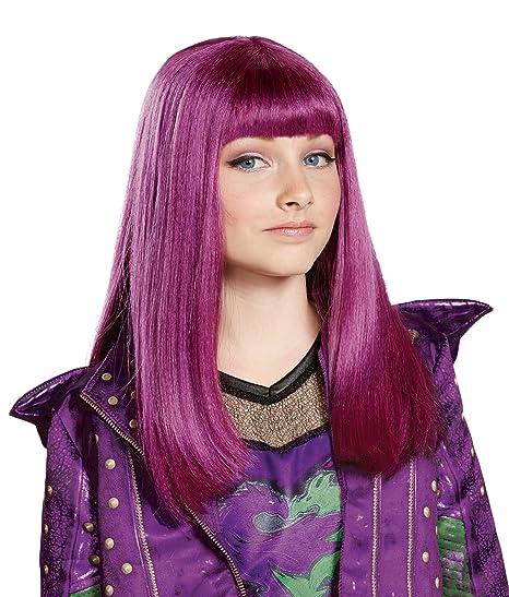 Disney Mal Descendants 2 Wig One Size