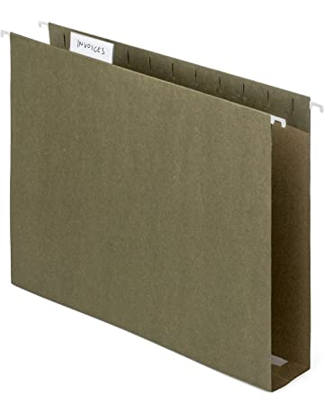 Blue Summit Supplies Extra Capacity Hanging File Folders, 25 Reinforced Hang Folders, Heavy Duty
