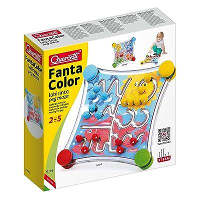 Quercetti Fantacolor Labyrinth Puzzle: Toys & Games