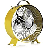 Tristar VE-5964 Retro Tischventilator – 25 cm – Gelb