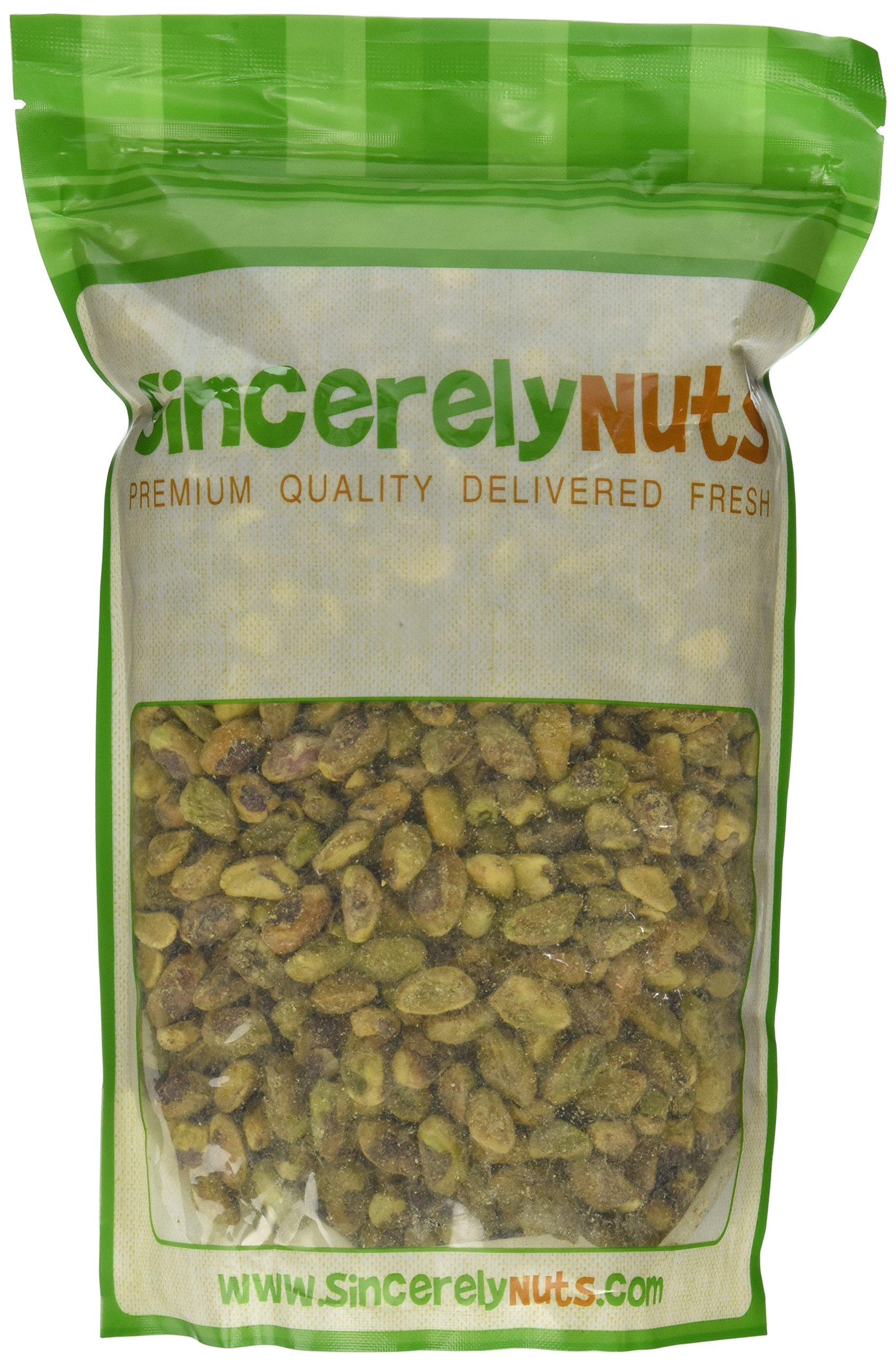 Sincerely Nuts Pistachios Roasted & Unsalted Kernels (No Shell) - 2 Lb. Bag - Healthy Snack Food | Great for Cooking | Source of Fiber, Protein & Vitamins | Gourmet | Vegan, Kosher & Gluten Free by Sincerely Nuts (Image #2)