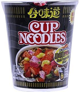 【日清合味道 经典开杯乐8口味8杯】混装公仔面速食杯面即食泡面方便面 Nissin and taste The instant noodles 8cup