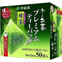 Itoen Premium Japanse groene thee 50 x 1,8 g theezakjes - Groene thee met Uji Matcha