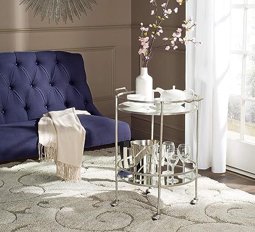 Safavieh Home Collection Lavinia Silver Bar Cart