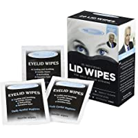 The Eye Doctor Eyelid Wipes – 20 x Single use lid Wipes for Eyes – Suitable for Sensitive Eyes, Detergent and Preservative Free Eye Wipes