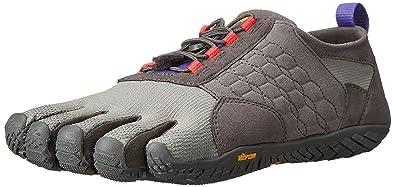 Vibram FiveFingers Trek Ascent, Chaussures de Running Compétition Femme - Gris - Grey (Dark Grey/Lilac), 36 EU (3.5 UK)