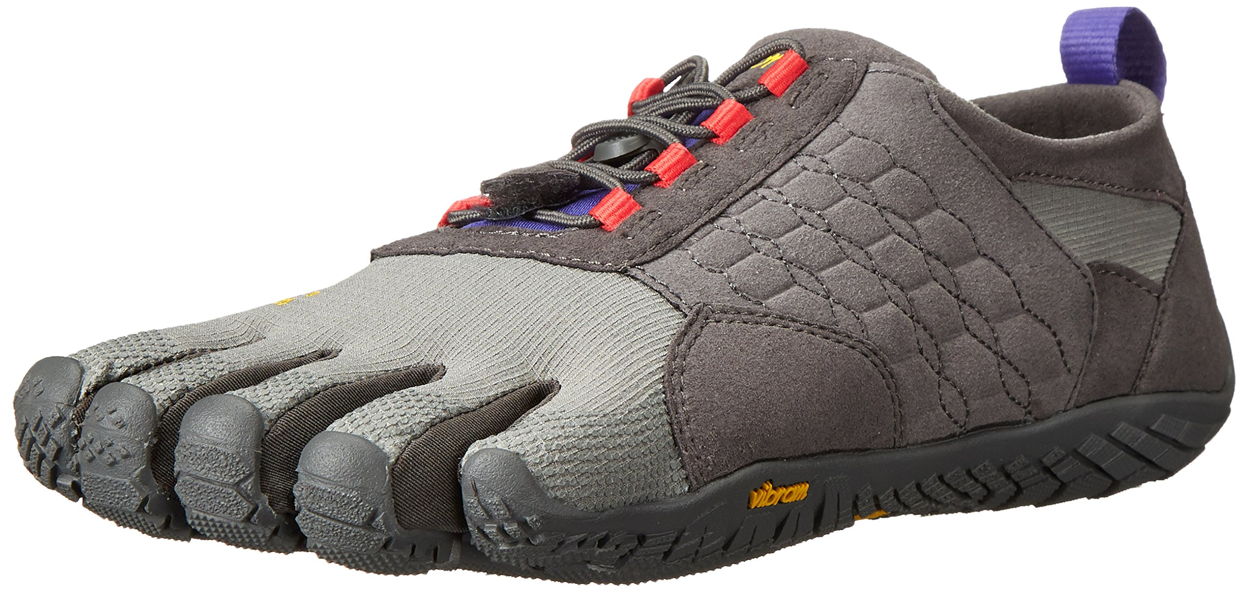 Vibram Women's Trek Ascent Light Hiking Shoe, Dark Grey/Lilac,39 EU/8 M US by Vibram (Image #1)