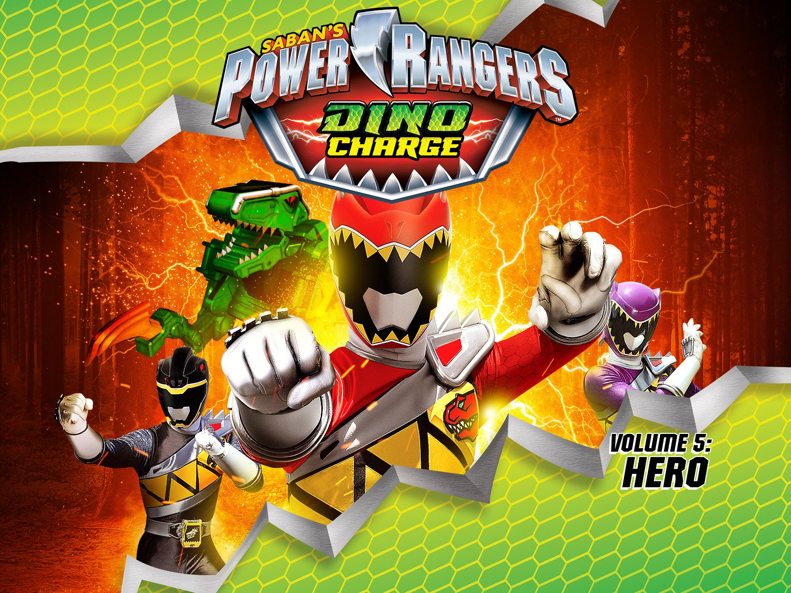 Watch Power Rangers Dino Charge Volume 5 Prime Video
