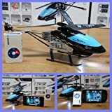 HELICOPTERO iPhone Samsung Android RADIO CONTROL INFRA RED RC 3.5 CANALES