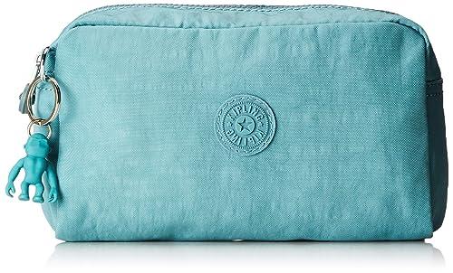 Kipling - Gleam, Monederos Mujer, Azul (Aqua Frost), 18.5 ...