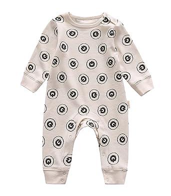 8ee0cddb5 Amazon.com  GuGu Love Unisex Baby Infant Organic Long Sleeve ...