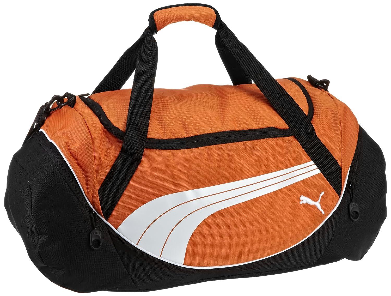 PUMA Men's Teamsport Formation 20 Inch Duffel Bag Orange One Size PMAT1001