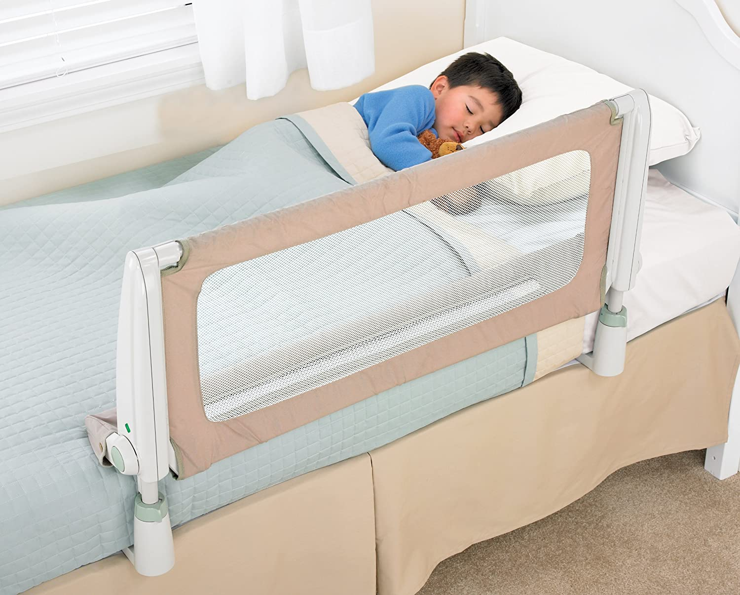 Amazon Safety 1st Secure Top Bed Rail Beige Baby