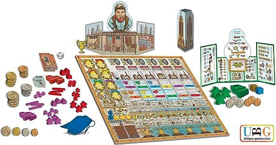 Juego de Mesa NYC de Free Market: Estrategia y Juego de Mesa de Trabajo | Paquete con 2 complementos: Amazon.es: Juguetes y juegos