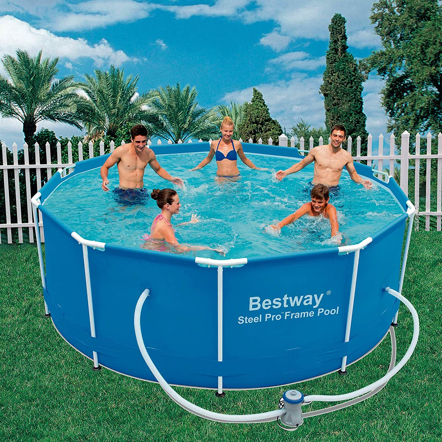 Piscina desmontable 305x100