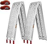 VIVOHOME Aluminum Folding Loading Ramps