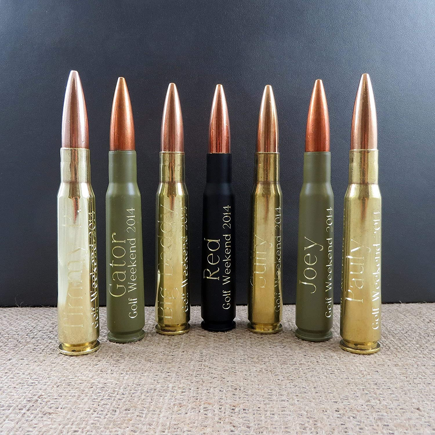 Personalized 50 Caliber Custom Bullet bottle Opener
