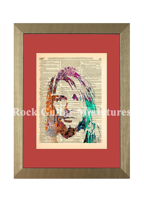 rgm1511 Kurt Cobain Nirvana Artwork Kuriositäten: Amazon.de: Küche ...