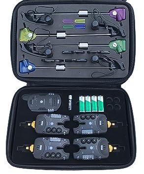 Detectores de picada Monster Carp MF213 V3 con Swinger: Amazon.es: Deportes y aire libre