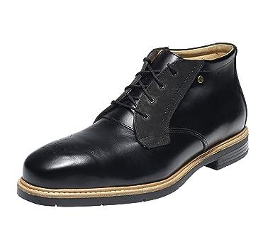 Emma Sicherheit Schuhe - Schwarz 2Tone S3 HI Herren Business Sicherheit Schuh - Frontier 164