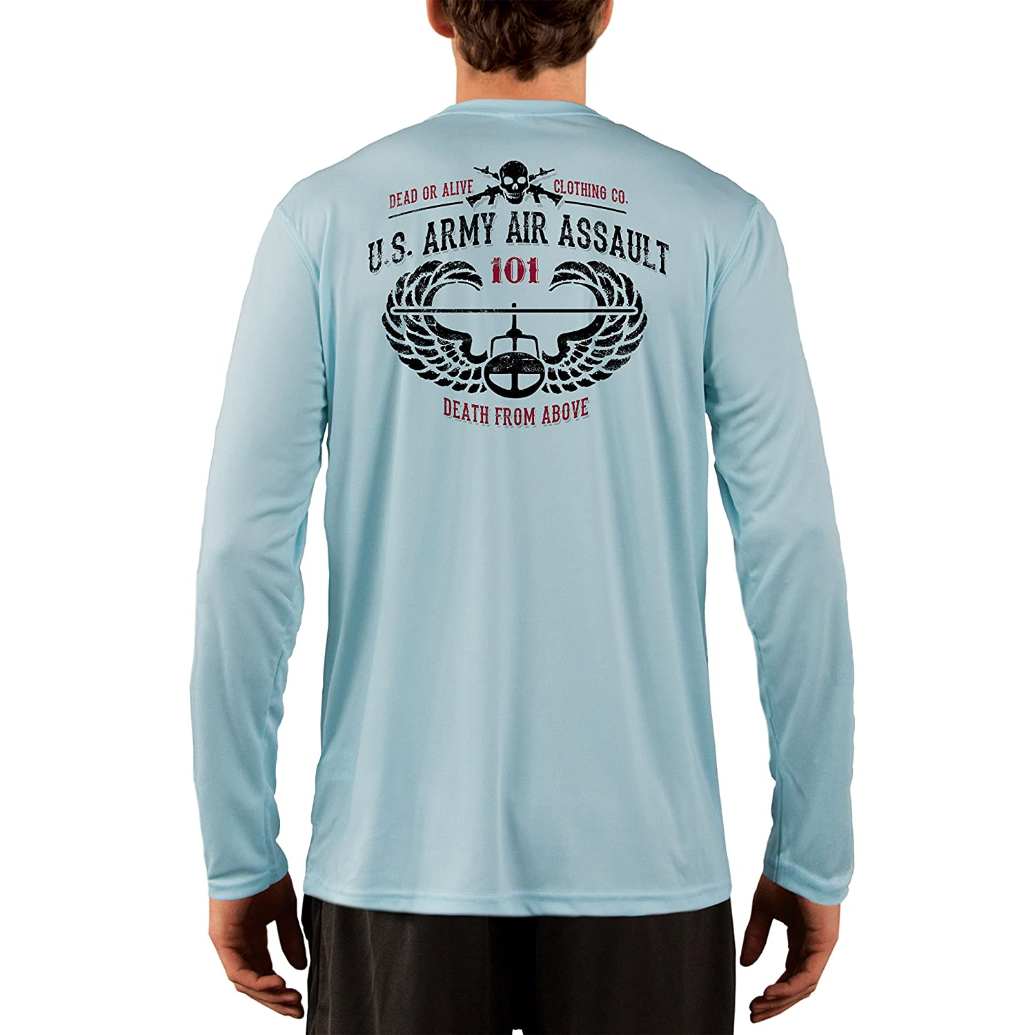 Dead Or Alive Clothing Men's U.S. Army Air Assault UPF 50+ Long Sleeve T-Shirt