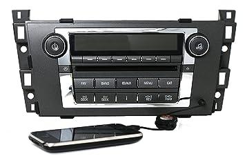 amazon com 2007 2009 cadillac dts srx am fm radio cd aux input rh amazon com