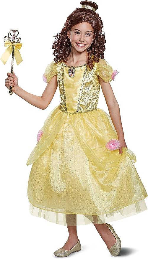 Disfraz de Bella y la Bestia niños pequeños, Amarillo, Size/(4-6x ...