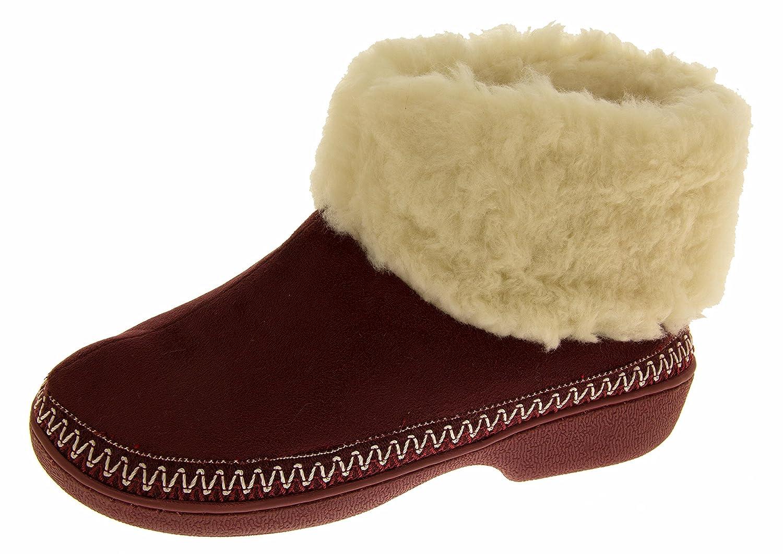 Femmes - Chaussons bottes semelle extérieur doublure chaude Jyoti