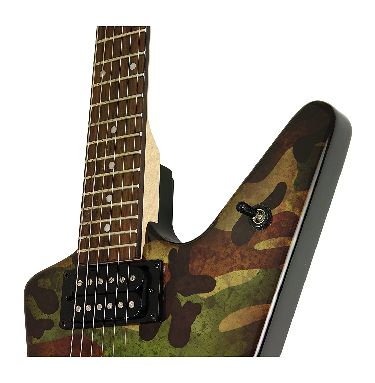 Amazon Dean DB CAMO Electric Guitar Musical Instruments