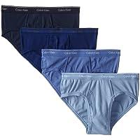 Calvin Klein卡尔文·克莱恩男士纯棉经典低腰内裤4条装