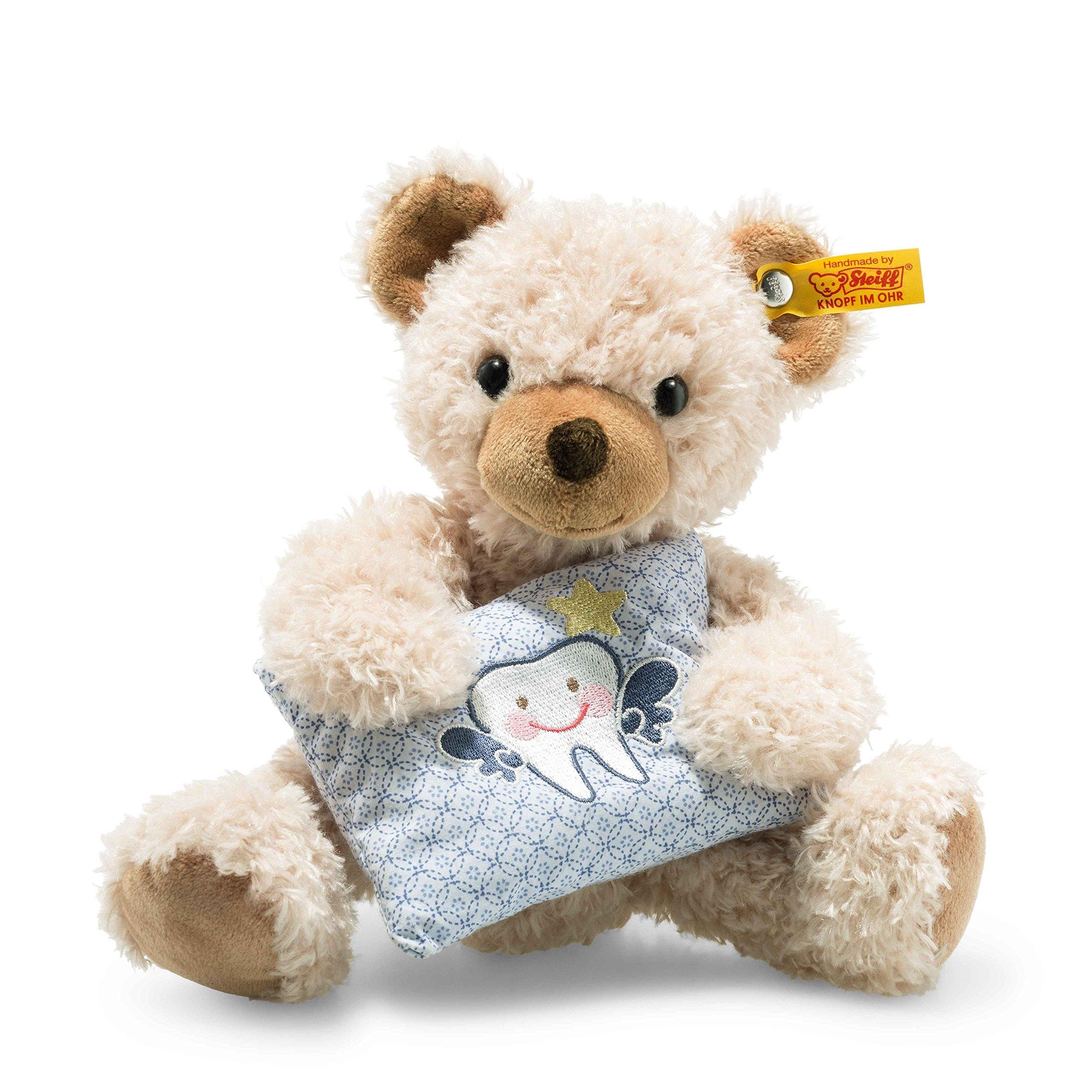 Steiff 113383 Leo Tooth Fairy Bear Plush Animal Toy, Beige by Steiff