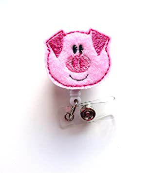 Amazon.com: Porky Pig – ID Badge Reel – MD retráctil Badge ...