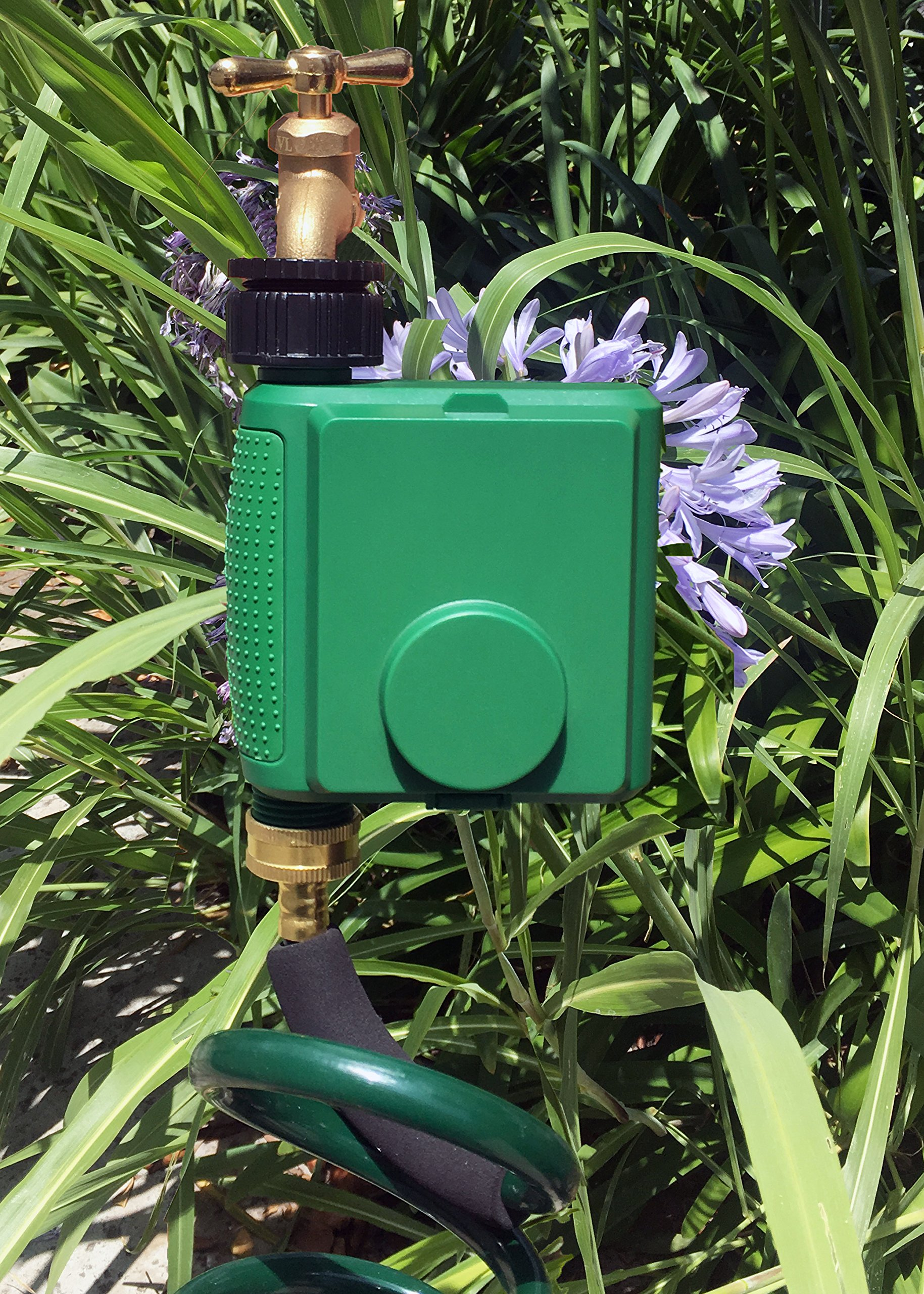 Instapark PWT-07 Outdoor Waterproof Digital Programmable Single Outlet Automatic On Off Water Faucet Hose Timer with Rain Delay and Manual Control by Instapark (Image #7)