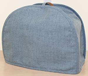 America At Home 2 Slice Toaster Cover Dusty Blue