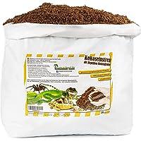 Humusziegel - 20 L Sustrato para Terrarios - Tierra de Fibra de Coco Suelta y Seca para Macetas - Sustrato Natural y sin…