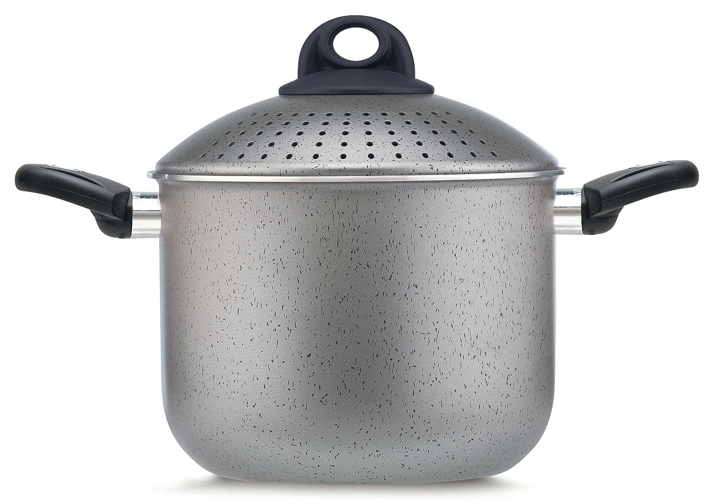 Pensofal Pen9923 PastaSì 5lt Family, diam. 20cm, Inducta range, stone effect, Silver grey