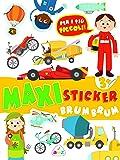 Brum brum. Maxi sticker. Con adesivi. Ediz. a colori