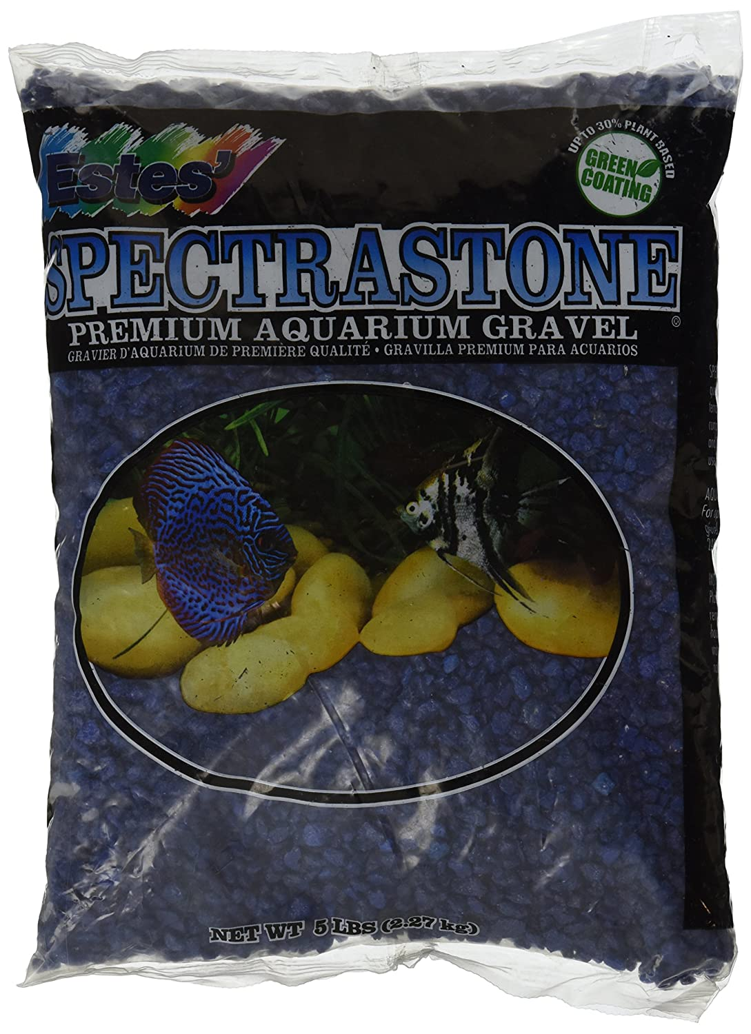 Amazon.com : Spectrastone Special Blue Aquarium Gravel for Freshwater Aquariums, 5-Pound Bag : Aquarium Decor Gravel : Pet Supplies