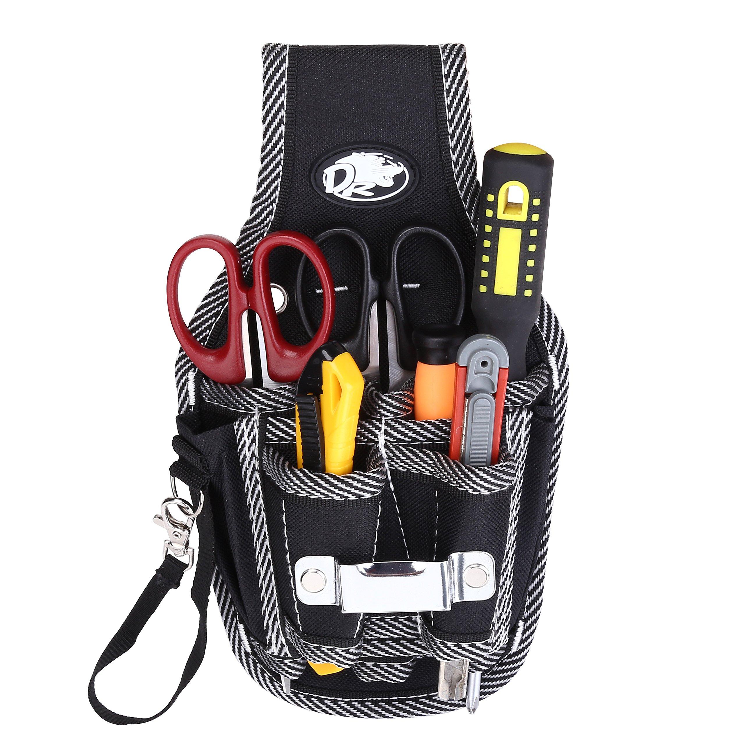 YOHOOLYO Porta Herramientas Organizador de Herramientas del Destornillador Cinturón Electricista 9 en 1 product image